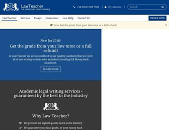lawteacher.net screenshot