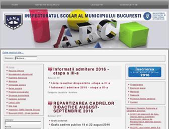 ismb.edu.ro screenshot