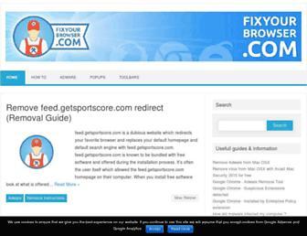 fixyourbrowser.com screenshot