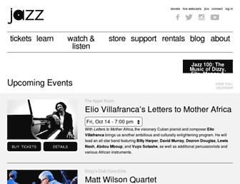 jazz.org screenshot