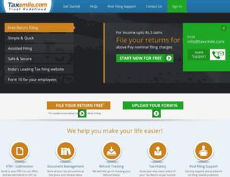 taxsmile.com screenshot