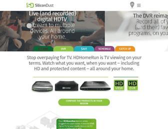 Thumbshot of Silicondust.com
