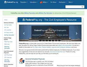 federalpay.org screenshot