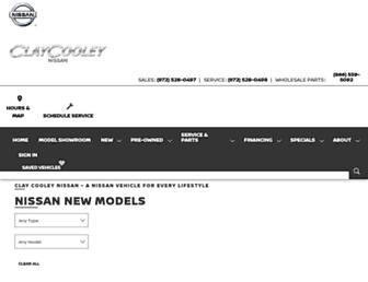 claycooleynissan.com screenshot