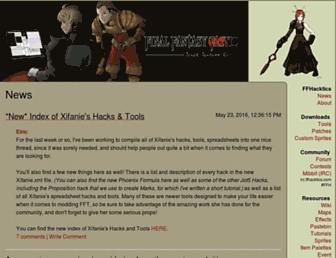 Thumbshot of Ffhacktics.com
