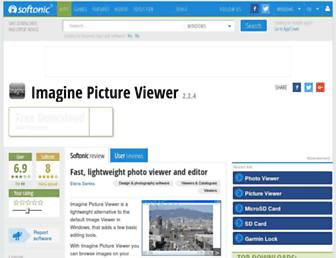 imagine-picture-viewer.en.softonic.com screenshot