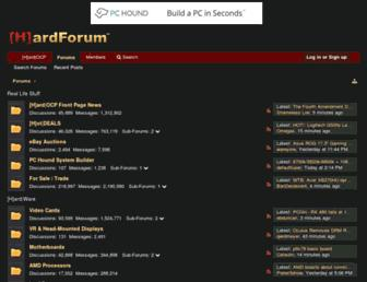 Thumbshot of Hardforum.com