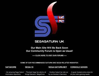 segasaturn.co.uk screenshot