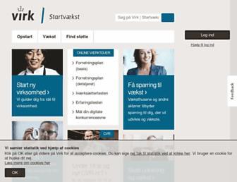 startvaekst.virk.dk screenshot
