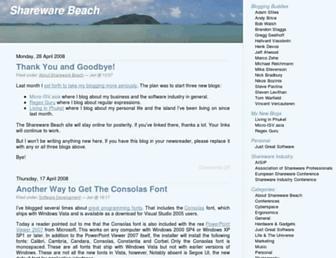 shareware-beach.com screenshot