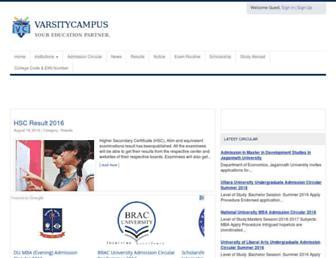 Thumbshot of Varsitycampus.com