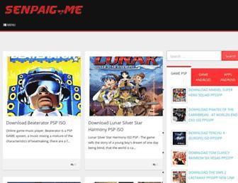 senpaigame.com screenshot