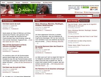 Main page screenshot of duckhome.de