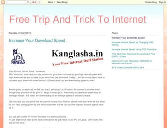 increasemydownloadspeed.blogspot.com screenshot