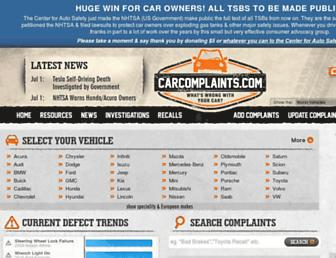 Thumbshot of Carcomplaints.com