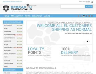 rcnetchemicals.com screenshot