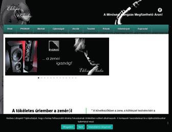 ekline-audio.hu screenshot