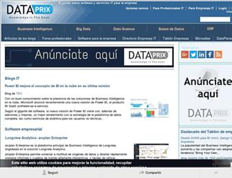 dataprix.com screenshot