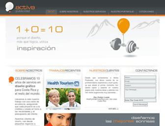 activa.co.cr screenshot