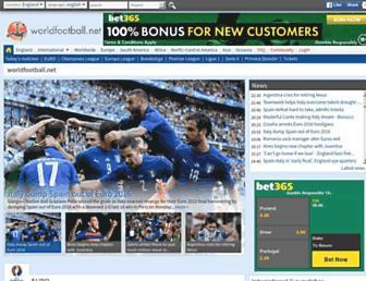 worldfootball.net screenshot