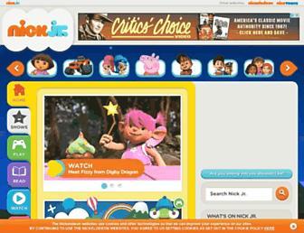Thumbshot of Nickjr.co.uk