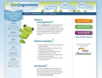Thumbshot of Conjuguemos.com