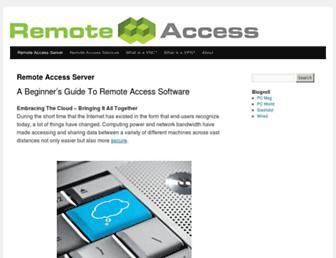 remoteaccess.org screenshot