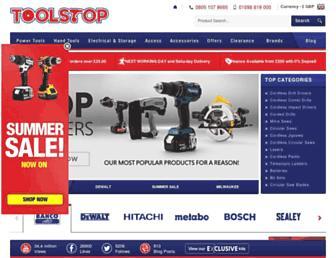 toolstop.co.uk screenshot