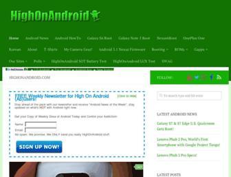 highonandroid.com screenshot