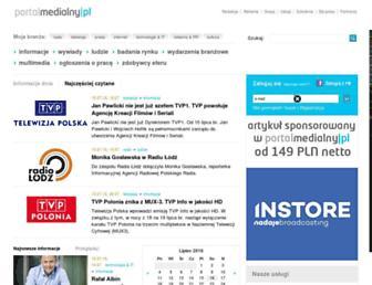 Main page screenshot of mediafm.net