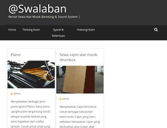 sewaalatmusikbandung.com screenshot