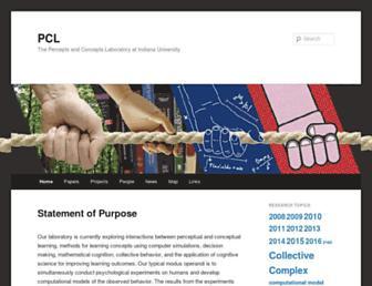 cognitrn.psych.indiana.edu screenshot
