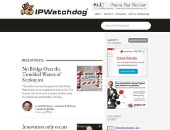 ipwatchdog.com screenshot