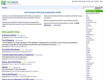 Thumbshot of Netvouz.com