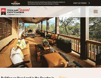 texascasualcottages.com screenshot
