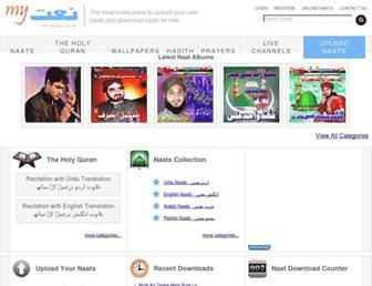my-naat.com screenshot