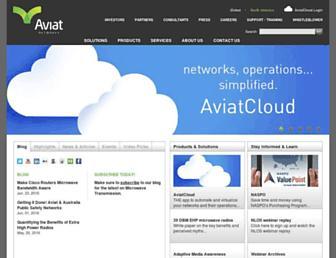 aviatnetworks.com screenshot