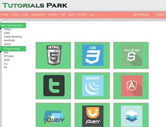 tutorialspark.com screenshot