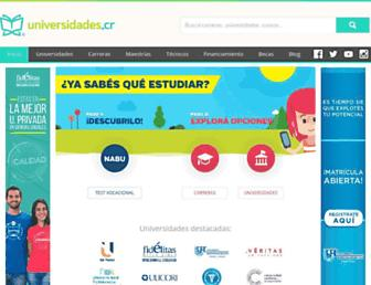 universidadescr.com screenshot