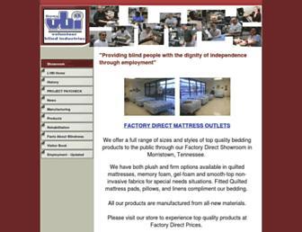 Main page screenshot of lvbi.org