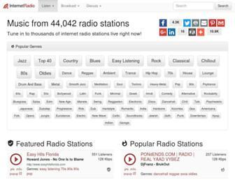 Thumbshot of Internet-radio.com
