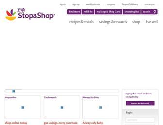 Thumbshot of Stopandshop.com