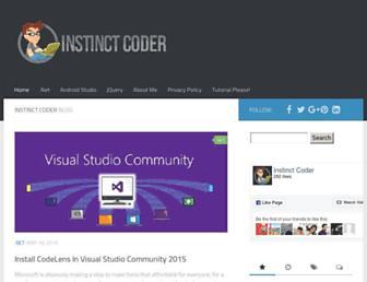 instinctcoder.com screenshot