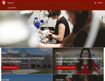 Thumbshot of Iu.edu