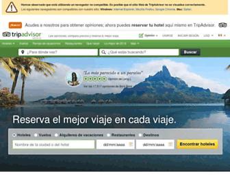 tripadvisor.com.mx screenshot