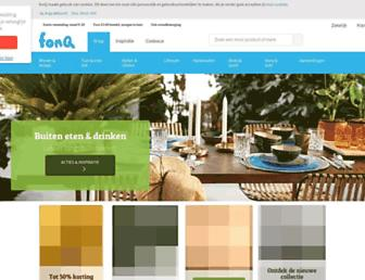 Main page screenshot of nonplusultra.nl