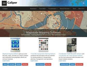caliper.com screenshot