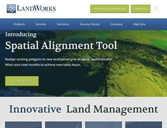 landworks.com screenshot
