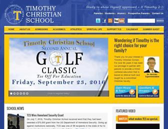 timothychristian.org screenshot