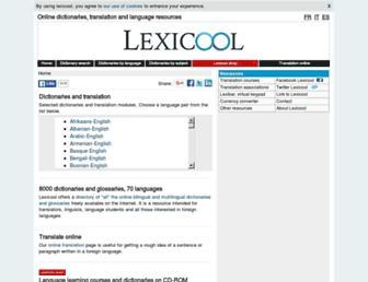 static.lexicool.com screenshot